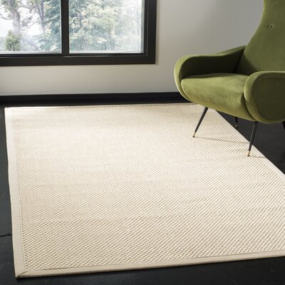 Chaidez Ivory Area Rug Rug Size: Rectangle 4 x 6