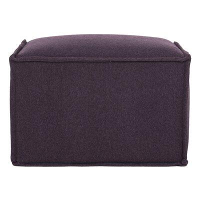 Elaine Ottoman Upholstery: Plum