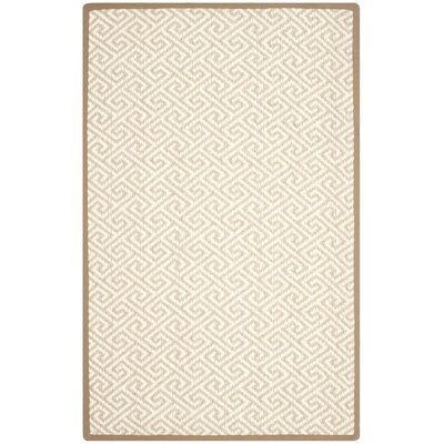 Natural Natural Area Rug Rug Size: 6 x 9