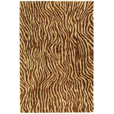 Soho Beige / Brown Rug Rug Size: 6 x 9