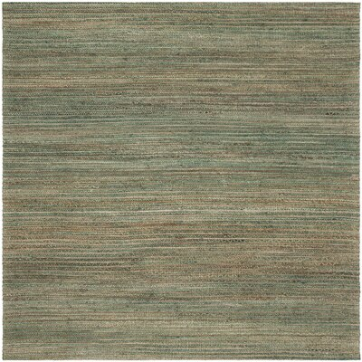 Canup Hand-Woven Sage Area Rug