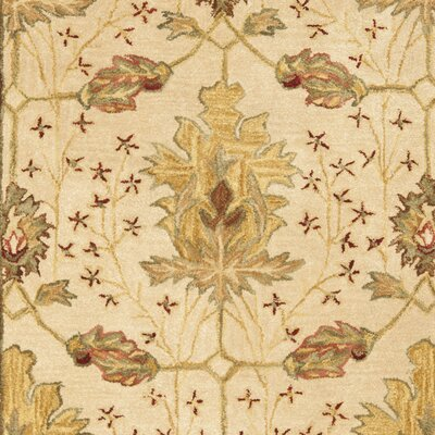 Anatolia Cream/Red Area Rug Rug Size: Rectangle 4 x 6