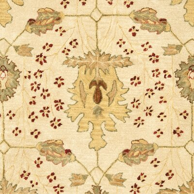 Anatolia Cream/Red Area Rug Rug Size: Rectangle 5 x 8