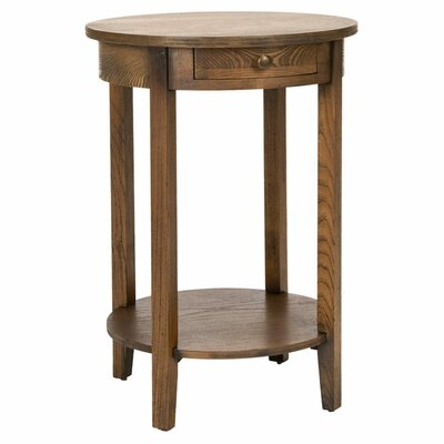 Hanna End Table Color: Oak