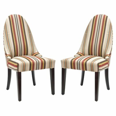 Emma Fabric Side Chair (Set of 2 )