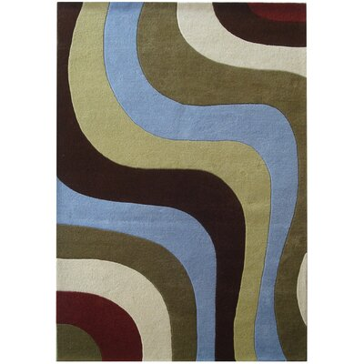Rodeo Drive Blue Area Rug Rug Size: Rectangle 36 x 56