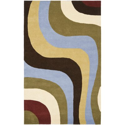 Rodeo Drive Blue Area Rug Rug Size: 5 x 8