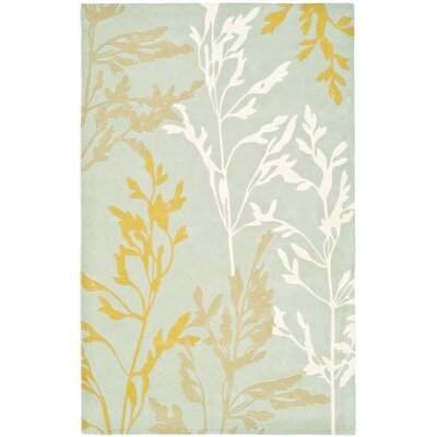 Soho Blue Area Rug Rug Size: Rectangle 5 x 8