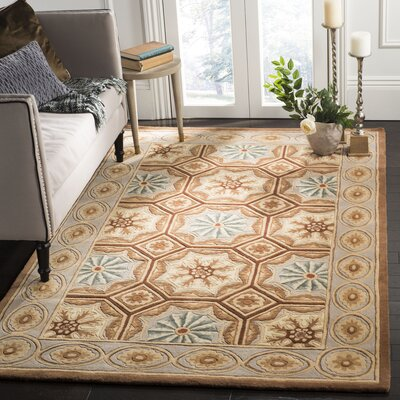 Naples Ivory Area Rug Rug Size: Rectangle 5 x 8