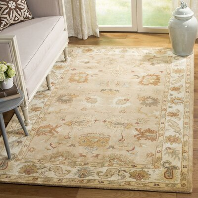 Bergama Area Rug Rug Size: Rectangle 5 x 8