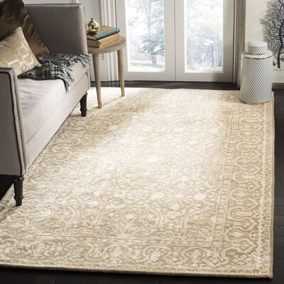 Silk Road Ivory Area Rug Rug Size: Rectangle 5 x 8