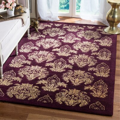 Metro Floral Rug Rug Size: Rectangle 5 x 8