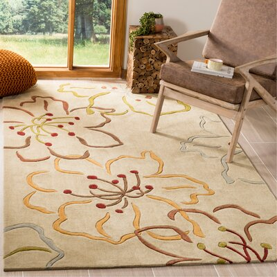 Modern Art Light Grey / Multi Rug Rug Size: Rectangle 5 x 8