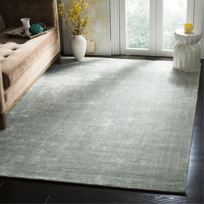 Mirage Light Blue Area Rug Rug Size: Rectangle 6 x 9