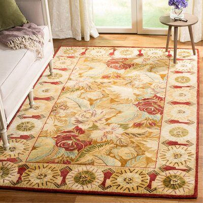 Bergama Beige/Taupe Area Rug Rug Size: Rectangle 5 x 8