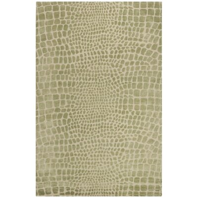 Amazonia Hand-Tufted Beige/Gray Area Rug Rug Size: Rectangle 56 x 86