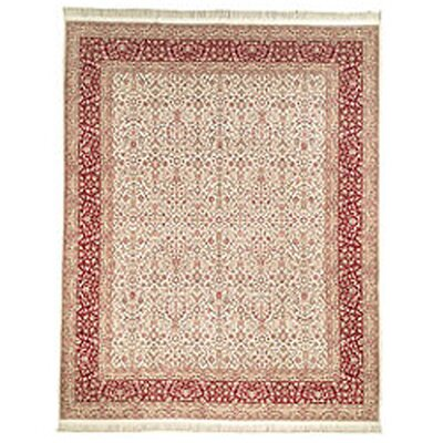 Royal Kerman Hand Knotted Area Rug Size: 6 x 9