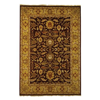Old World OW224A Red / Light Gold Oriental Rug Rug Size: Rectangle 9 x 12