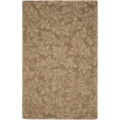 Impression Light Brown Area Rug Rug Size: Rectangle 6 x 9