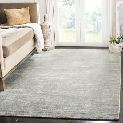 Mirage Blue Area Rug Rug Size: Rectangle 5 x 8