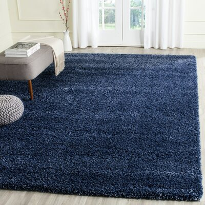 Starr Hill Navy Area Rug Rug Size: Rectangle 53 x 76