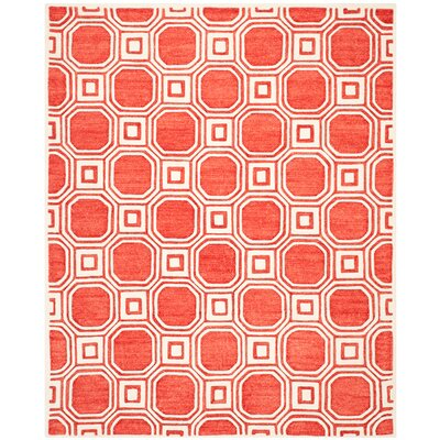 Precious Rose Rug Rug Size: Rectangle 8' x 10'