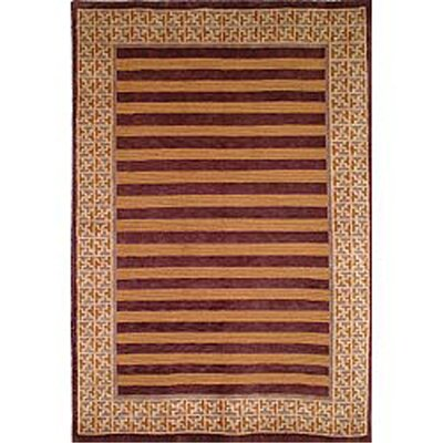 Youmans Hand Knotted Wool Area Rug Rug Size: Rectangle 8 x 10