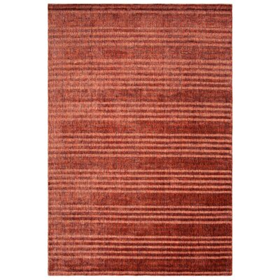 Mirage Rust Area Rug Rug Size: Rectangle 6 x 9