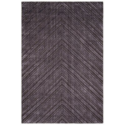 Mirage Charcoal Area Rug Rug Size: Rectangle 6 x 9