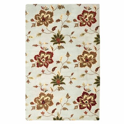 Jardin Light Blue/Multi Area Rug Rug Size: 5 x 8