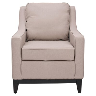 Summer Club Chair Color: Taupe