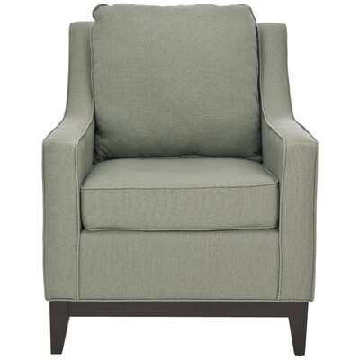 Summer Club Chair Color: Grey Linen