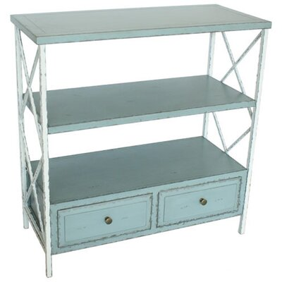 Cheap Safavieh Annabelle Distressed Console in White / Pale Blue (FV17775)