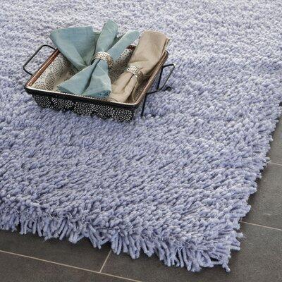 Shag Lilac Area Rug Rug Size: 5' x 8'