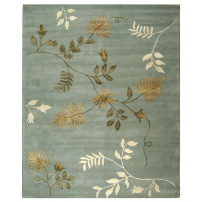 Armstrong Light Blue Rug Rug Size: Rectangle 6 x 9