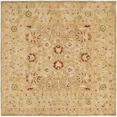 Anatolia Tan/Ivory Rug Rug Size: Square 6' image