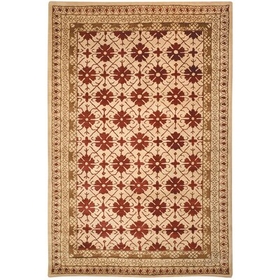 Classic Red / Gold Area Rug