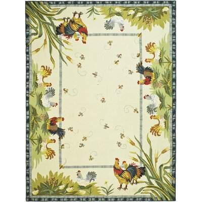 Isabella HK56A Country Rug Rug Size: 89 x 119