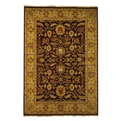 Old World OW224A Red / Light Gold Oriental Rug Rug Size: 9 x 12