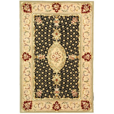 Persian Court Black/Beige Rug