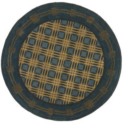 Soho Blue Rug Rug Size: Square 5'