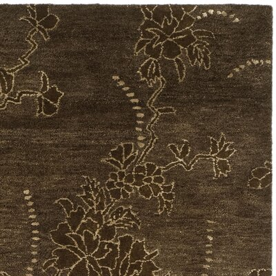 Soho Brown Area Rug Rug Size: Square 6