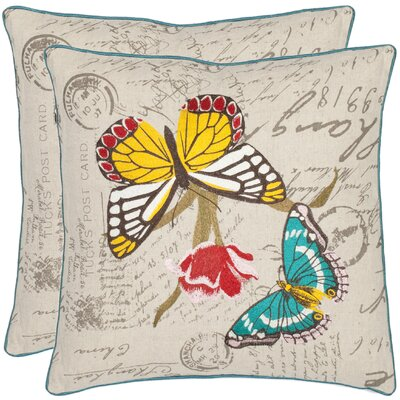 Pam Cotton Throw Pillow