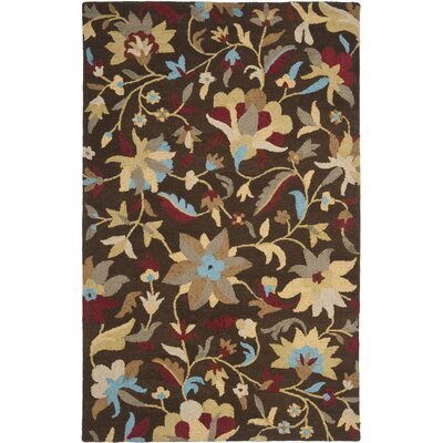 Jardin Brown/Multi Rug Rug Size: 5 x 8