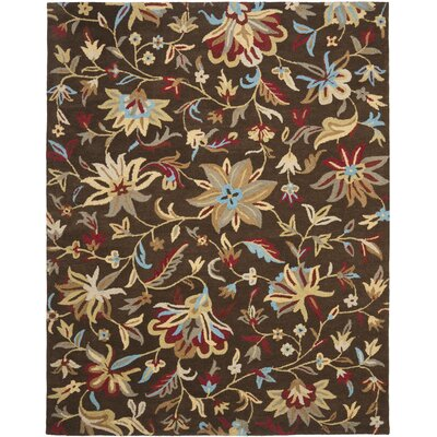 Jardin Brown/Multi Rug Rug Size: Rectangle 8 x 10