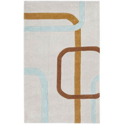Modern Art Multi Rug Rug Size: 26 x 4