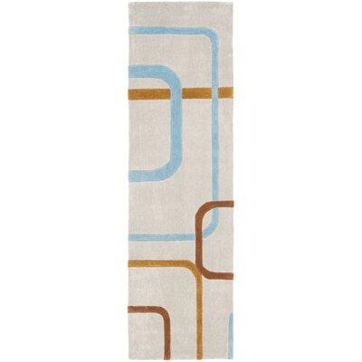 Modern Art Multi Rug Rug Size: Runner 23 x 8