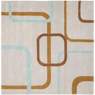 Modern Art Multi Rug Rug Size: Square 7
