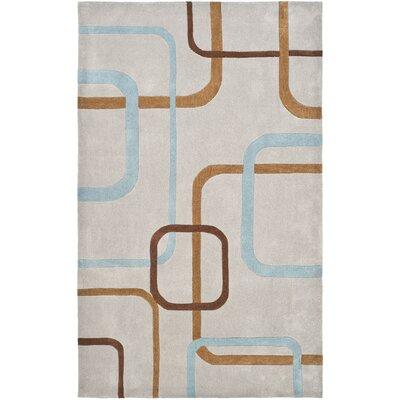 Modern Art Multi Rug Rug Size: 5 x 8