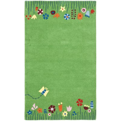 Claro Green / Multi Rug Size: Rectangle 6 x 9